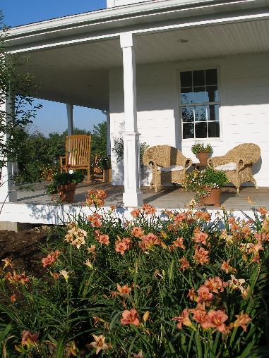 Farmhouse style bed and breakfast near State College, Pennsylvania